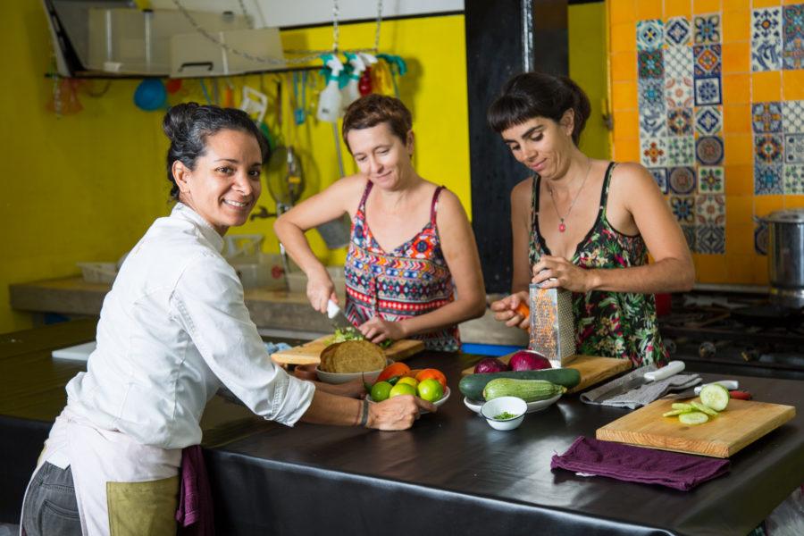 Curso de cocina y de español